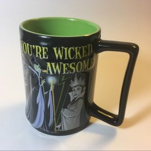 Disney Parks 3-d Villains Mug • Wicked Awesome